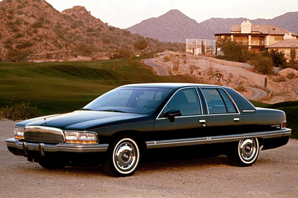 Buick roadmaster 1991 последний рестайл платформы.