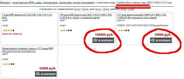 pryamozub_price