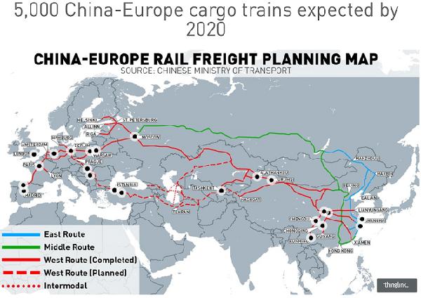 China-EU-Map