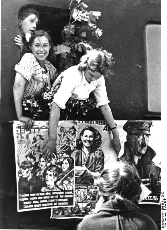 Ausländische Arbeiter im III. Reich
