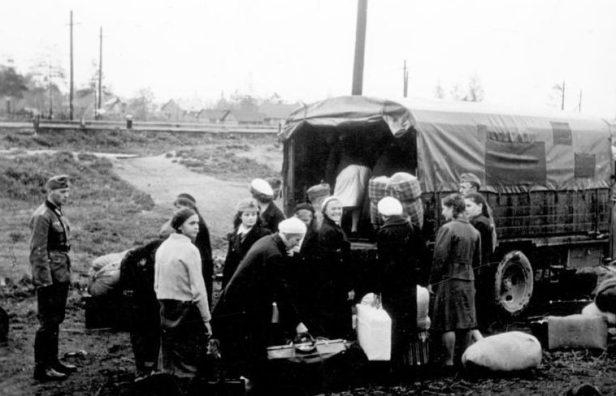 Russland, Abtransport von Ostarbeitern