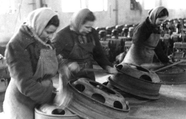 Berlin, sowjetische Zwangsarbeiterinnen